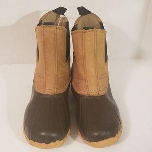 Cabela's Men's Pull On Duck Boots NWOT